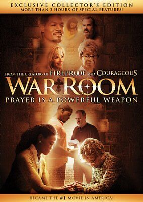 War Room Collector's Edition DVD Brand New - Region Free