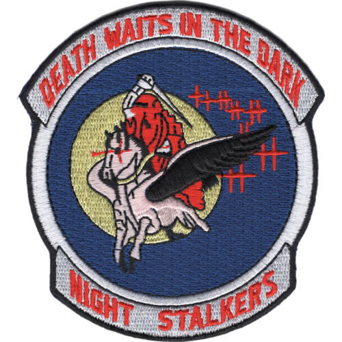 160th SOAR 101st Airborne Division Patch - Death Waits In The DarkPatches - 36078
