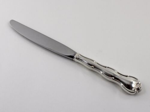 """Gorham Rondo Sterling Silver Luncheon Knife - 9"""" - No Monograms"""