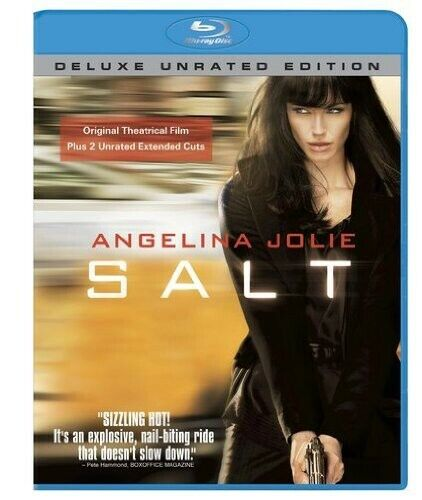 Salt [Unrated]  [Deluxe Edition] (2010, Blu-ray NEW)