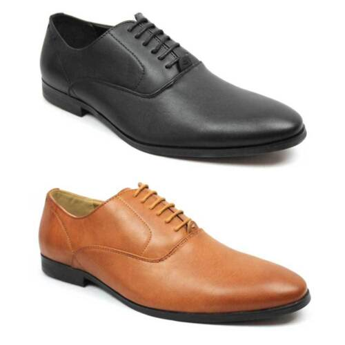 New Men's Pointed Round Toe Lace Up Dress Shoes Black / Brown Optional By AZAR