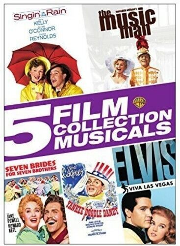 5 Film Collection: Musicals (2015, DVD NEW)