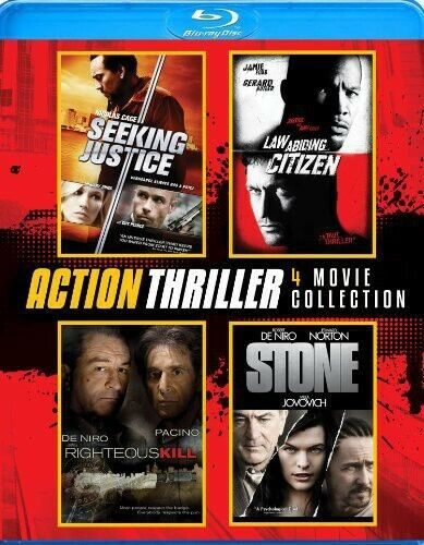 Action Thriller 4-Pack (2014, Blu-ray NEW)