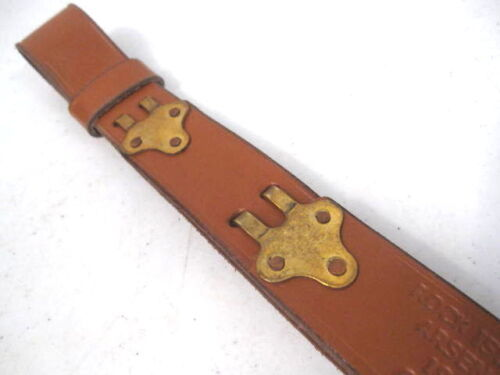 WWI US ARMY M1907 Leather Sling M1903 Springfield Marked RIA 1918 ReproUnited States - 156413