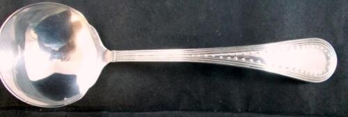 Wedgwood GROSGRAIN STERLING Solid Gravy Ladle GREAT CONDITION