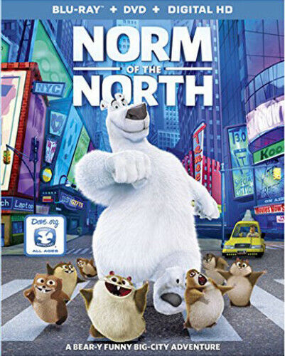 Norm Of The North - 2 DISC SET (2016, Blu-ray NEW)