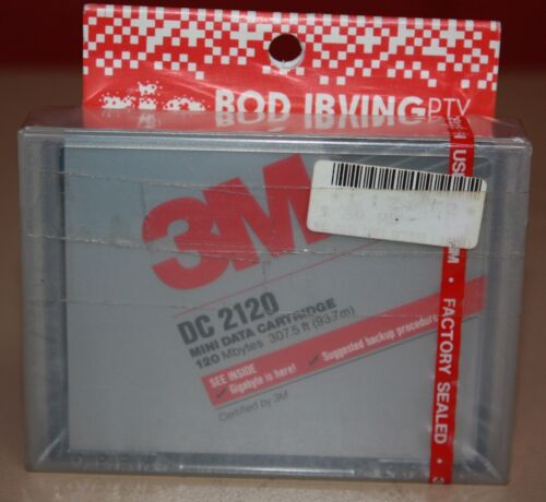 3M DC 2120 Data Cassettes 2 new 9 used