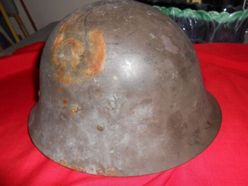 Outstanding Collectible 1930's ARGENTINA Army Swedish M26 Steel HELMET....SALESweden - 4081