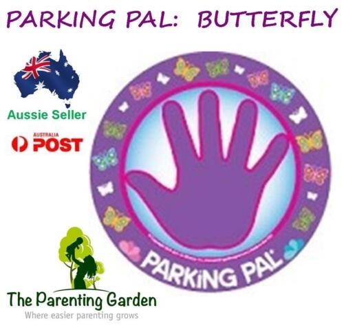 Parking Pal Car Magnet - Butterfly - Car Decal, Children Safety in Carparks