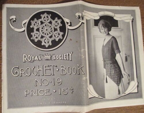1922 ROYAL SOCIETY CROCHET BOOK NUMBER 19