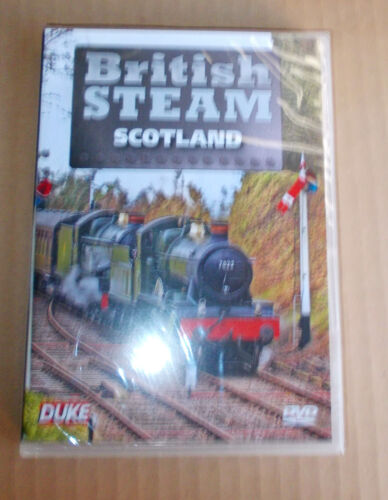 British Steam in Scotland  DVD - New - Free Post