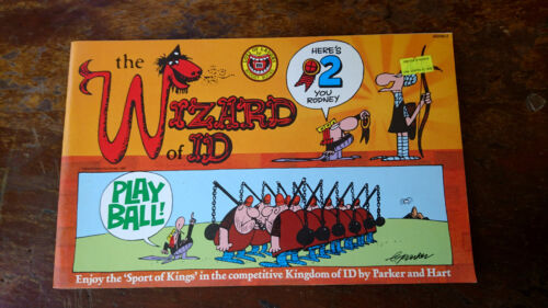 THE WIZARD OF ID play ball by  parker & hart PB