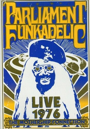 Parliament Funkadelic: The Mothership Connection - Live from Hou (2008, DVD NEW)