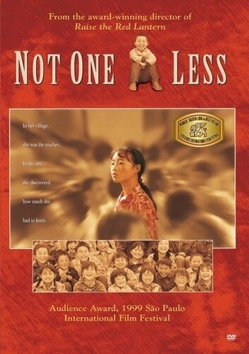 Not One Less (2016, DVD NEW)