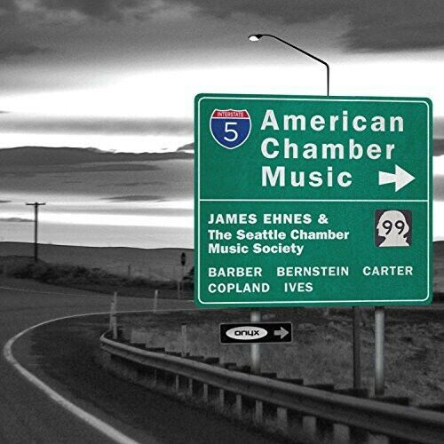 American Chamber Music - Copland / Ives / Barber / Ehnes / Seat (2014, CD NIEUW)