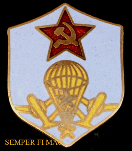 SOVIET PARACHUTE HAT PIN RUSSIA STAR USSR COMMUNISTS WOWOther Militaria - 135