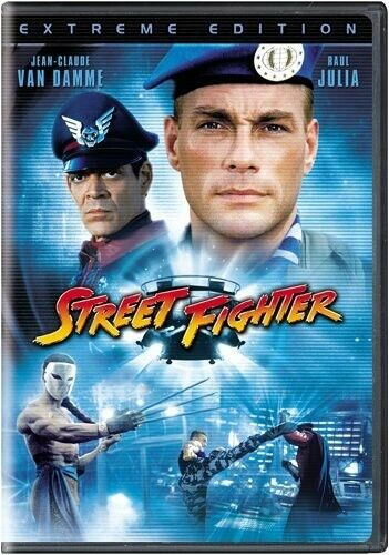 Street Fighter [Extreme Edition] (2009, DVD NEW)