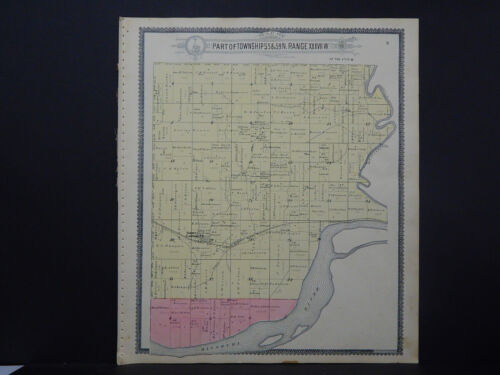 Missouri, Holt County Map, 1898 Forbes Township O1#20