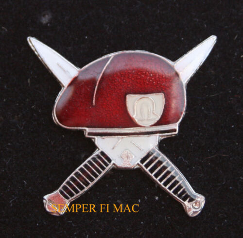 SOLDIER OF FORTUNE RED LAPEL HAT PIN US MILITARY SOF OMEGA French Foreign LegionOther Militaria (Date Unknown) - 66534