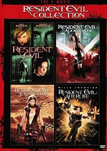 Resident Evil Collection - 2 DISC SET (2015, DVD NEW)