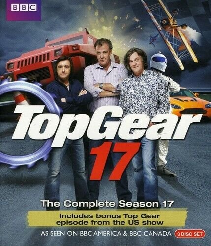 Top Gear: The Complete Season 17 [3 Discs] (2012, Blu-ray NEW)