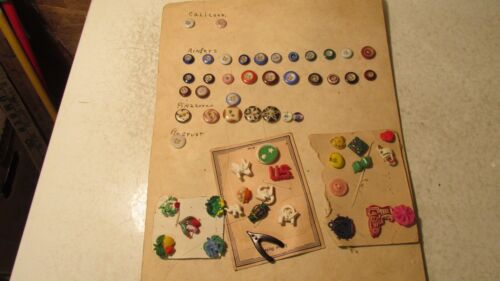 Antique Buttons Calicos Ringers Pinafores Plus
