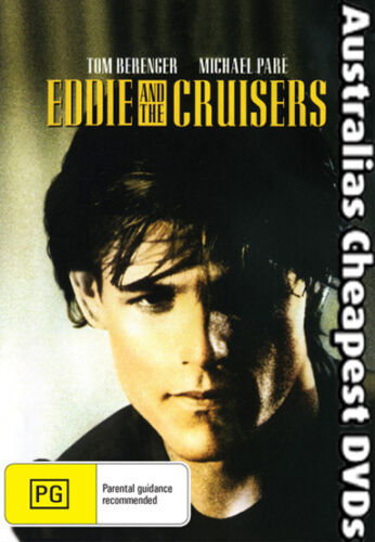 Eddie And The Cruisers  DVD NEW, FREE POSTAGE WITHIN AUSTRALIA REGION 4