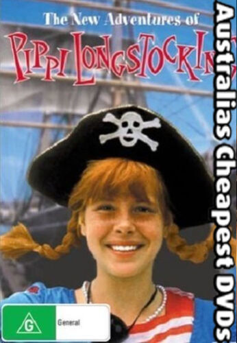 The New Adventures Of Pippi Longstocking DVD NEW, FREE POSTAGE  AUST REG ALL