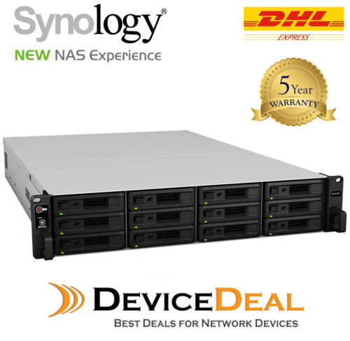 Synology RX1217RP 12 Bay Diskless Rackmount Expansion Unit
