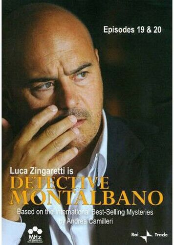 Detective Montalbano: Episodes 19 and 20 (2011, DVD NEW)