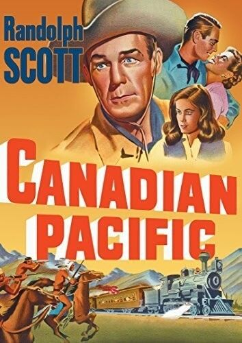 Canadian Pacific (1949) (2016, DVD NEW)
