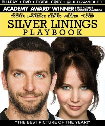 Cooper/Lawrence/Deniro - Silver Linings Playbook (2013, BLU-RAY NEW)