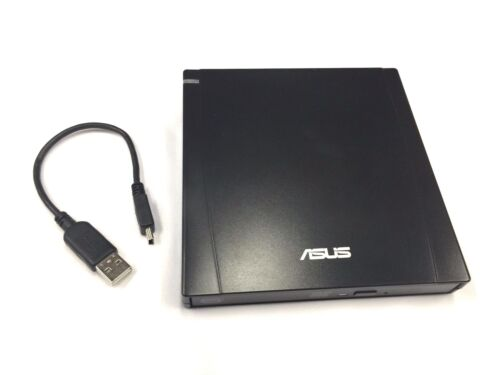 ASUS External Slim DVD-RW Optical Drive USB 2.0 SLIM EXT.DVD-RW/BK Black