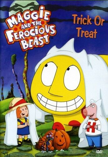 Maggie and the Ferocious Beast: Trick or Treat (2007, DVD NEW)