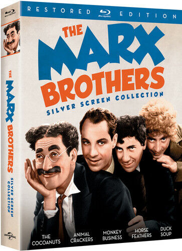 Marx Brothers Silver Screen Collection - 3 DISC SET (2016, Blu-ray NEW)