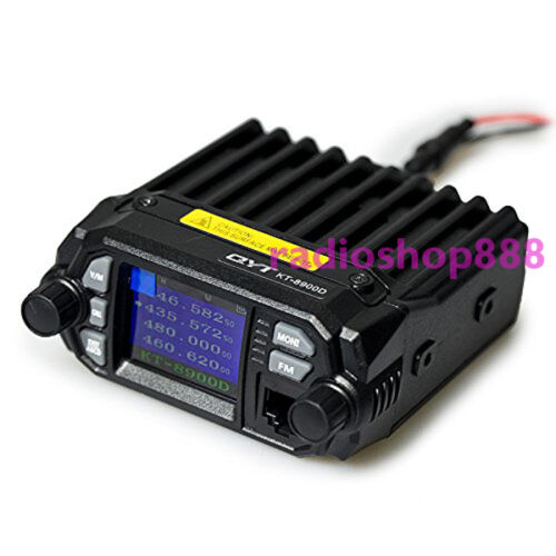25W Color Screen QYT KT-8900D Quan-Standy Truck Mobile Radio with External MIC