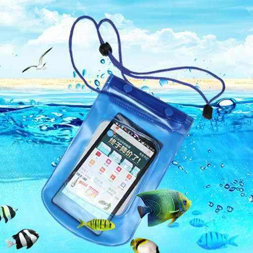 Waterproof Pouch Bag Cover Case For Gadgets Mobile Phone - Pink