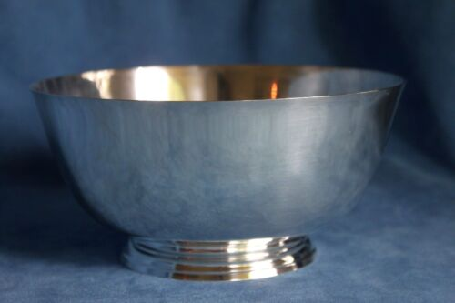 Vintage Shreve Crump & Low Co 807 Paul Revere Repo Sterling Silver 469 Gram Bowl
