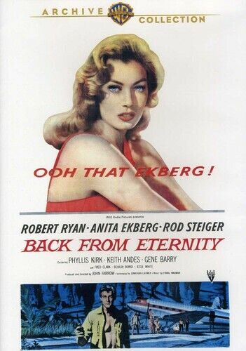 Back from Eternity (2012, DVD NEW) DVD-R
