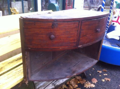 Architectural Salvage Wood Cabinet