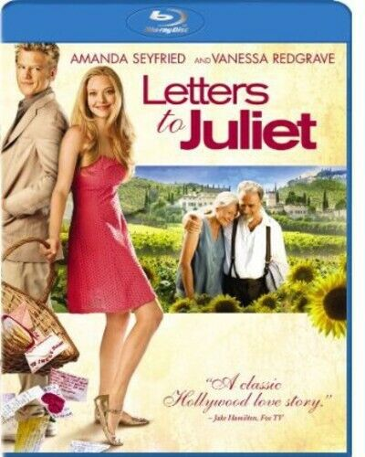 Letters To Juliet (2010, Blu-ray NEW)