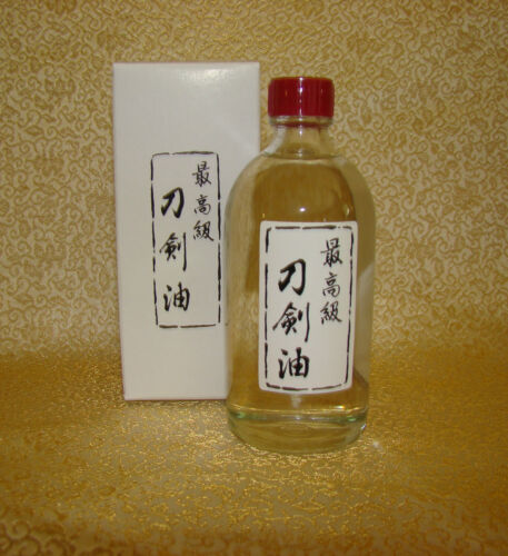 Japanese Sword Cleaning choji oil 100cc bottle