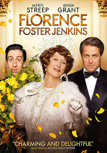 Florence Foster Jenkins (2016, DVD NEW)