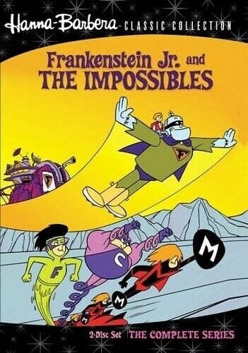 Hanna-Barbera Classic Collection: Frankenstein Jr. and the (2011, DVD NEW) DVD-R