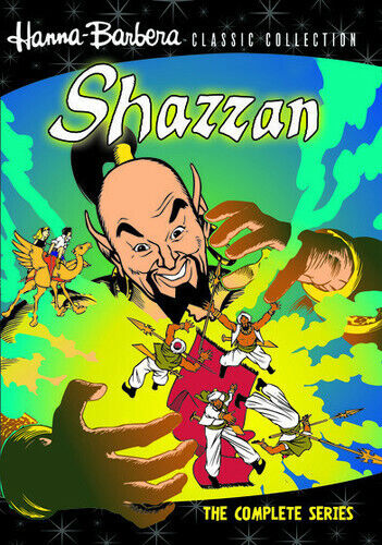 Hanna-Barbera Classic Collection: Shazzan - The Complete S (2012, DVD NEW) DVD-R