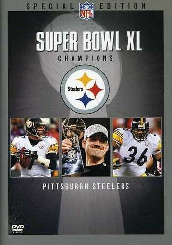 Super Bowl  XL Champions: Pittsburgh Steelers (2006, DVD NEW)
