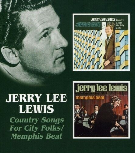 Country Songs For City Folk/Memphis Beat - Jerry Lee Lewis (2005, CD NIEUW)