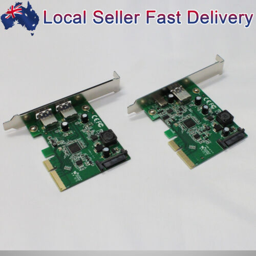 PCI-E to USB 3.1 Type A+Type C/2x Type A Host Controller PCI Express Card For PC
