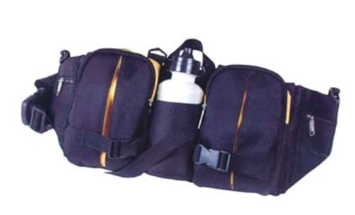 Waist Bag Picnic with Bottle 2 Big 2 Small Side Pockets Sport Travel Hiking Camp