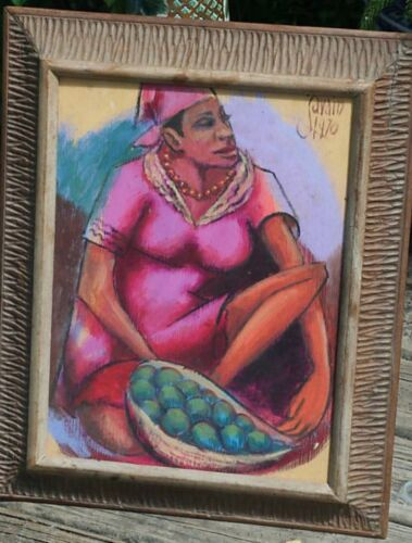 Haitian Painting by Petion Savain 16x20